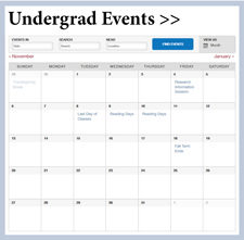 Undergrad Events