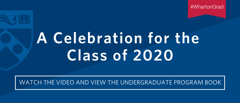 Watch the 2020 Graduation Celebration